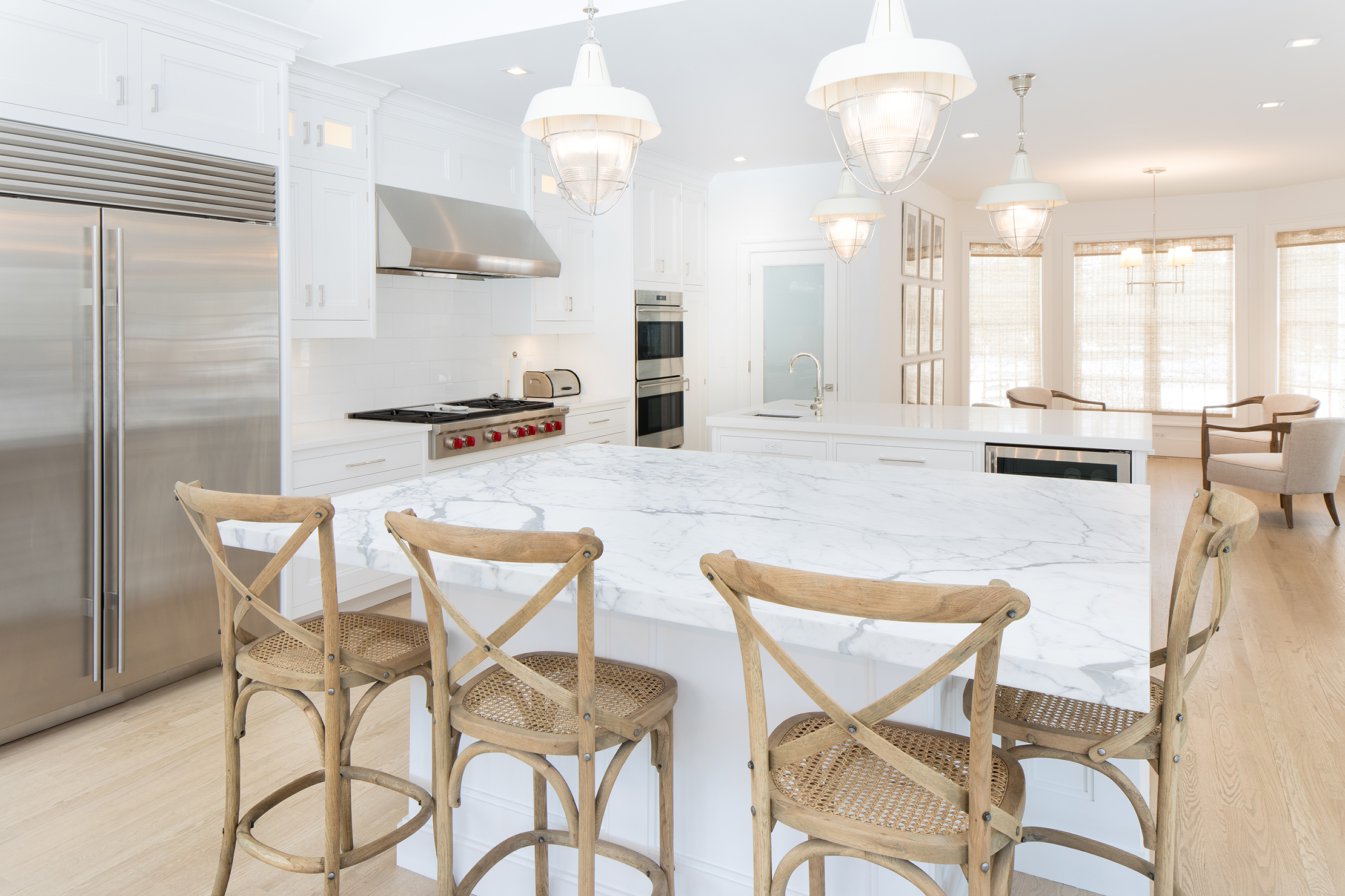 Beautiful interior hamptons design