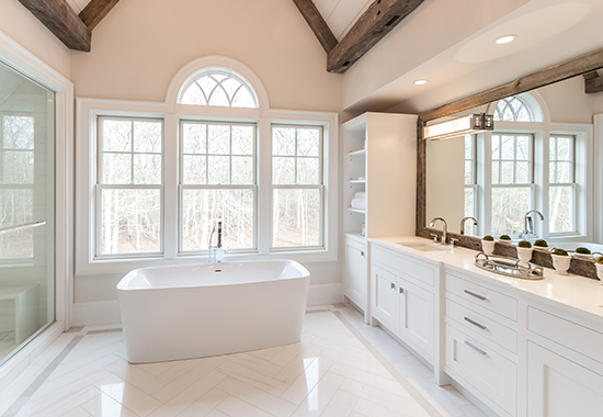 Blue Heron Master Bathroom