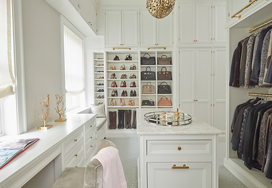 Melanie Roy Design Dream Closet