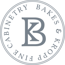 Bakes and Kropp logo for luxury kitchen design and custom cabinetry
